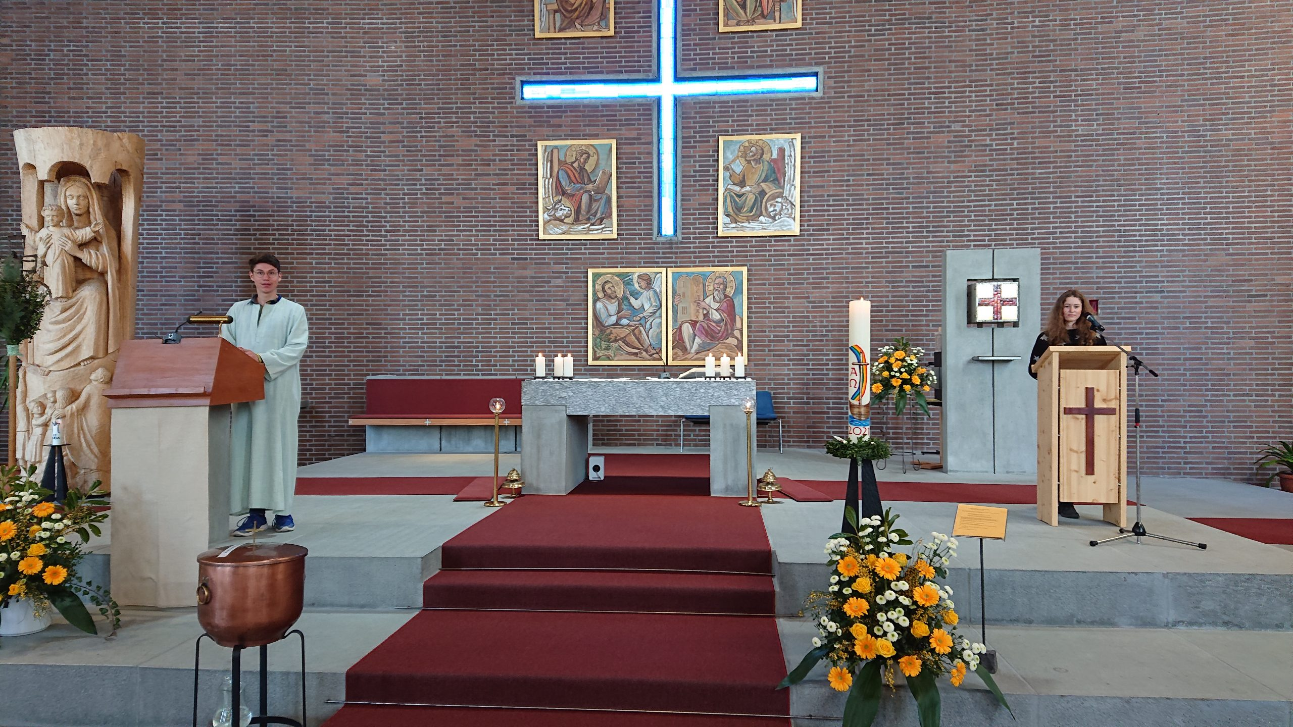 Familiengottesdienst am 11.4.21 in Weidach