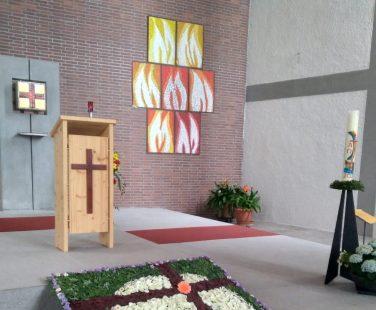 Fronleichnam in St. Josef der Arbeiter Weidach
