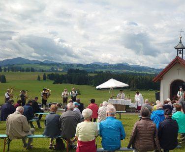 Bergmesse in Bodelsberg